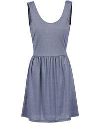 Bench - Superlative Women's Dress In Blue - Lyst