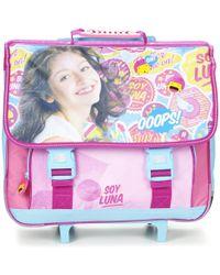 Disney - Soy Luna Trolley Cartable 41cm Girls's Children's Rucksack In Purple - Lyst
