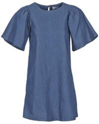 Compañía Fantástica - Omlos Women's Dress In Blue - Lyst