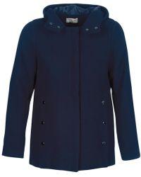 Moony Mood - Fanio Women's Coat In Blue - Lyst