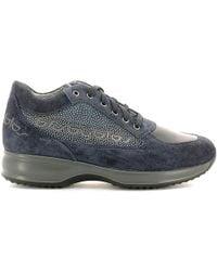 Byblos Blu - 667203 Shoes With Laces Women Blue Women's Walking Boots In Blue - Lyst