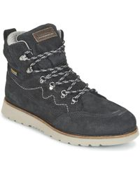 Quiksilver - Altas M Boot Xkkc Men's Mid Boots In Black - Lyst