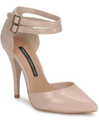 French Connection - Tiarella Women's Court Shoes In Pink - Lyst