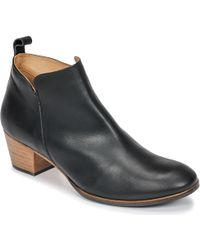 Emma Go - Wallace Women's Low Ankle Boots In Black - Lyst