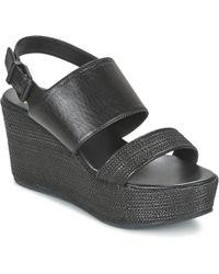 Paul & Joe - Bloc Women's Sandals In Black - Lyst