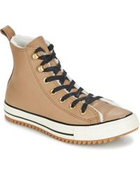 cde418492488 Converse - Chuck Taylor All Star Hiker Boot Leather Hi Women s Shoes  (high-top