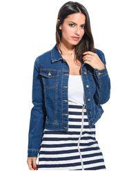 Ada Gatti - Jacket Jeanne Women's Denim Jacket In Blue - Lyst