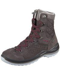 Lowa - Calceta Gtx Ws 420413 0937 Anthrazit Ledergtx Men's Snow Boots In Multicolour - Lyst