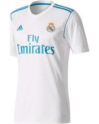 adidas - 2017-2018 Real Madrid Home Football Shirt Men s T Shirt In White - df45709dd