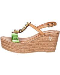 Apepazza - Sel02 Sandal Women Green Women's Sandals In Green - Lyst
