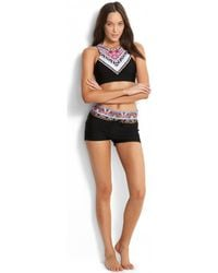 Seafolly - Sahara Nights Shorty Women's Shorts In Pink - Lyst