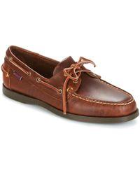 Sebago - DOCKSIDES hommes Chaussures en Marron - Lyst
