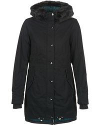 Bench - New Parka Women's Parka In Black - Lyst