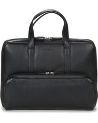 Le Tanneur - Bruno Men's Briefcase In Black - Lyst