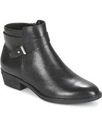 Lauren by Ralph Lauren - Shanae Women's Mid Boots In Black - Lyst