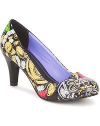 T.U.K. - Antipop Pirate Women's Court Shoes In Multicolour - Lyst