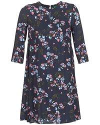 Benetton - Apolerodi Women's Dress In Black - Lyst