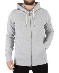 Levi's   Levis Men's Original Zip Hoodie, Grey Men's Sweatshirt In Grey   Lyst