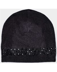 Max & Moi - Hat Hatdiamond Black Woman Autumn/winter Collection Women's Beanie In Black - Lyst