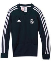 adidas - 2018-2019 Real Madrid Training Top (dark) - Kids Men s Sweatshirt fa5b71e3e