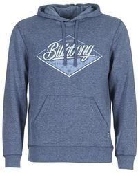 Billabong - Tstreet Men's Sweatshirt In Blue - Lyst