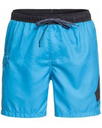 54e6b1e04ef7c Nike Ba?ador Swim Solid Secado Extrar?pido Ness9506 448 Azul Men's ...