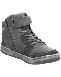 S.oliver - Kinder Skaterschuhe Women's Shoes (high-top Trainers) In Grey - Lyst