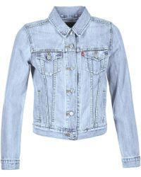 Levi's - Levis Original Trucker Women's Denim Jacket In Blue - Lyst