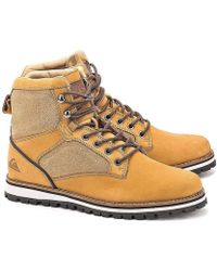 Quiksilver - Bronte Men's Low Ankle Boots In Brown - Lyst