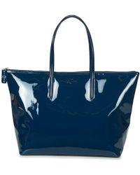 Lacoste - L 12 12 Concept Glitter Women's Shopper Bag In Blue - Lyst
