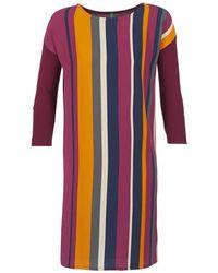 Benetton - Vagoda Women's Dress In Multicolour - Lyst