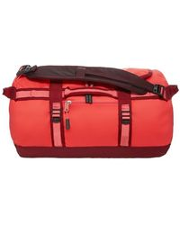 The North Face - Podróżna Base Camp Duffel Xs30l Women's Sports Bag In Red - Lyst