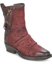 A.S.98 - Blade Women's Low Ankle Boots In Red - Lyst