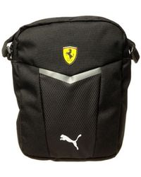 PUMA - Ferrari Fanwear Portable Women's Pouch In Black - Lyst