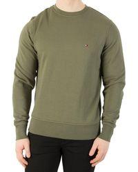 Tommy Hilfiger | Men's Basic Sweatshirt, Green Men's Sweater In Green | Lyst