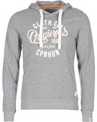 Jack & Jones - JORCATALINA hommes Sweat-shirt en Gris - Lyst