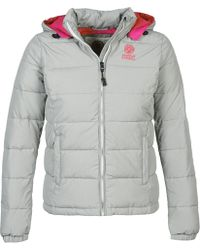 Franklin & Marshall - Jkwca506 Women's Jacket In Grey - Lyst