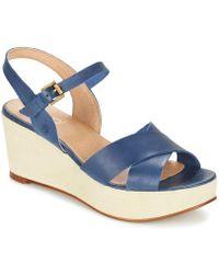 Casual Attitude - Geto Women's Sandals In Blue - Lyst