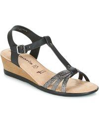 Tamaris - Bacapo Women's Sandals In Black - Lyst