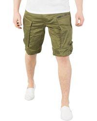 G-Star RAW - Homme Rovic - Short cargo en vrac à glissière, Vert hommes Short en vert - Lyst