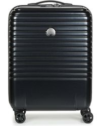Delsey - Caumartin Plus Valise Trolley Cabine Slim 4 Doubles Roues 55 Cm Women's Hard Suitcase In Multicolour - Lyst
