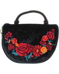 Irregular Choice - Casa Blanca Women's Handbags In Black - Lyst