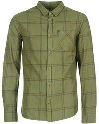 Rip Curl - Check Shirt Men's Long Sleeved Shirt In Green - Lyst