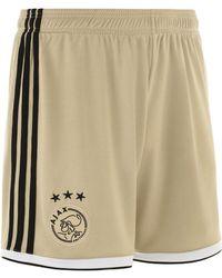adidas - 2018-2019 Ajax Away Shorts Men's Shorts In Gold - Lyst