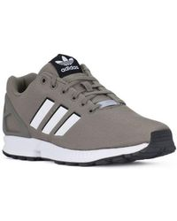 896cdf440 Adidas Zx Flux W Women s Shoes (trainers) In Grey in Gray - Lyst
