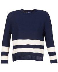 Loreak Mendian - Marina Women's Sweater In Blue - Lyst