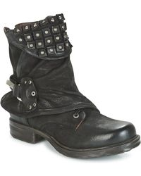 A.S.98 - Saint Ec Women's Mid Boots In Black - Lyst