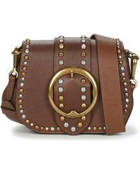 7aedd43ac8f4 Polo Ralph Lauren - Belt Saddle-crossbody Women s Shoulder Bag In Brown -  Lyst