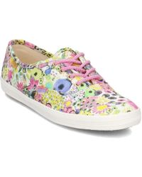 Keds - Ch Lib Floral Women's Shoes (trainers) In Pink - Lyst