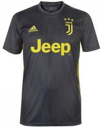 2cb8cd89f58 adidas - 2018-2019 Juventus Third Football Shirt Men s T Shirt In Black -  Lyst